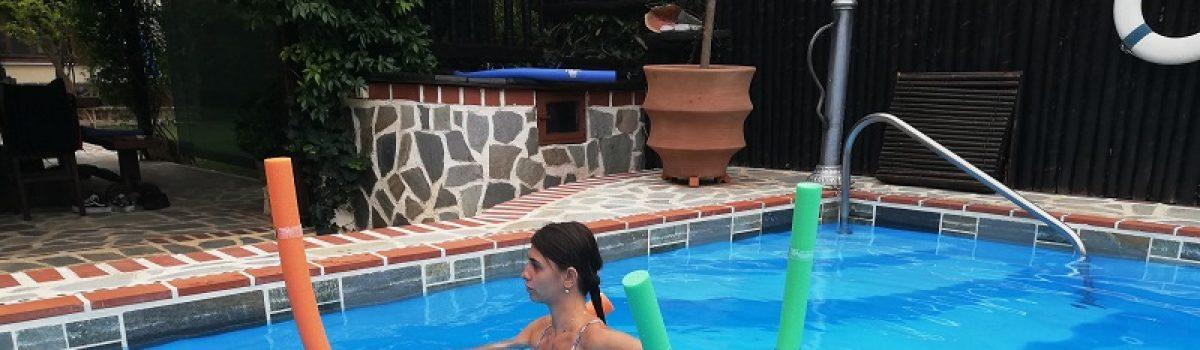 Η άσκηση superman του κλινικού Πιλάτες και μεσα στο νερό!